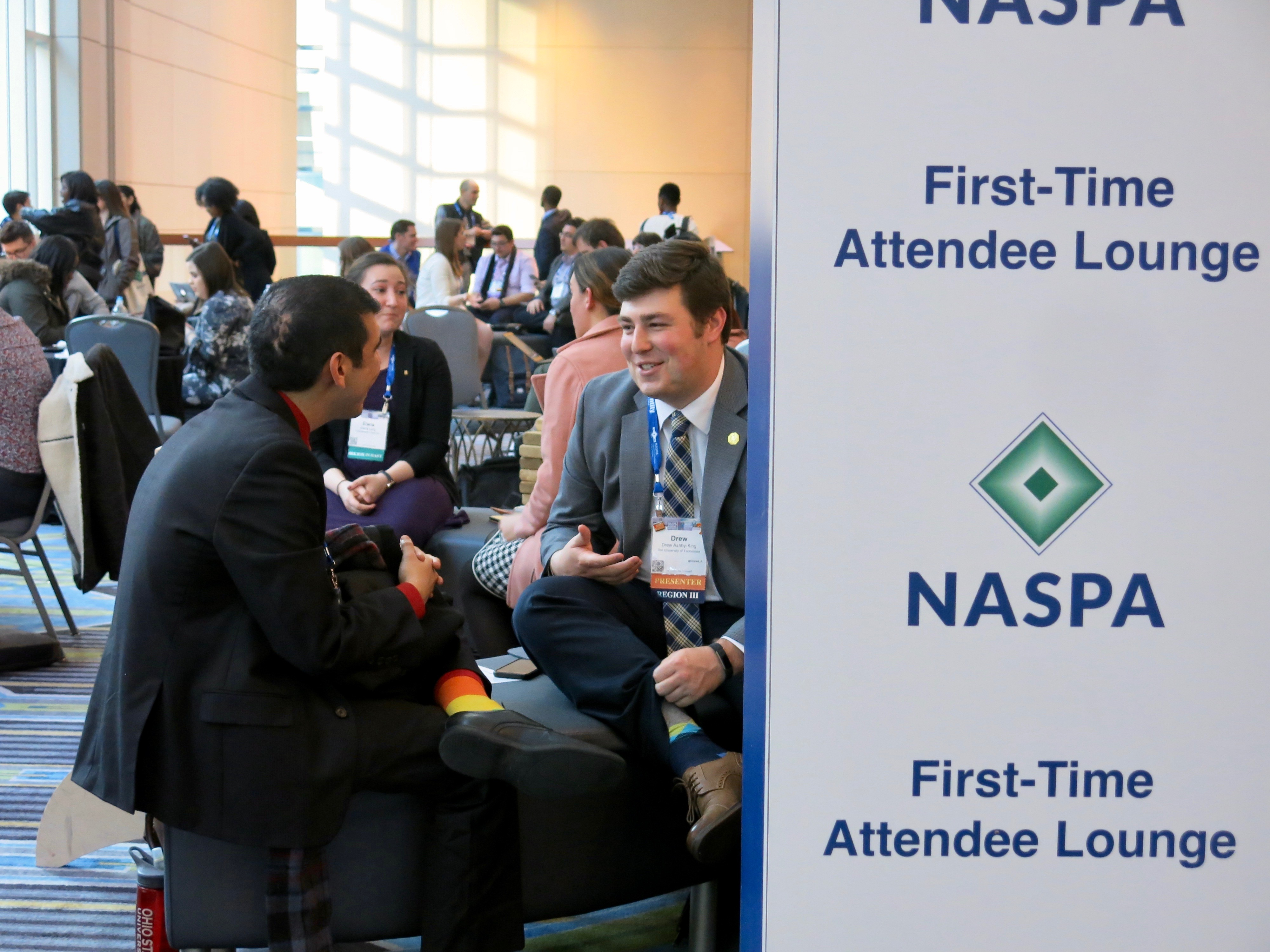 NASPA 2018. Philadelphia, USA; March 2018