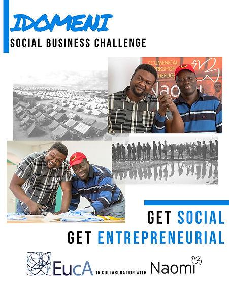 New WebSite - Poster IDOMENI SOCIAL BUSI