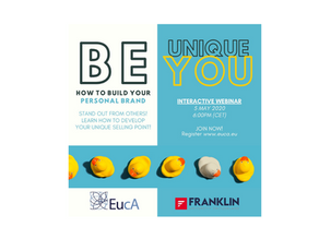 NEW WEBINAR Be Unique, Be YOU! Your Personal Branding Project