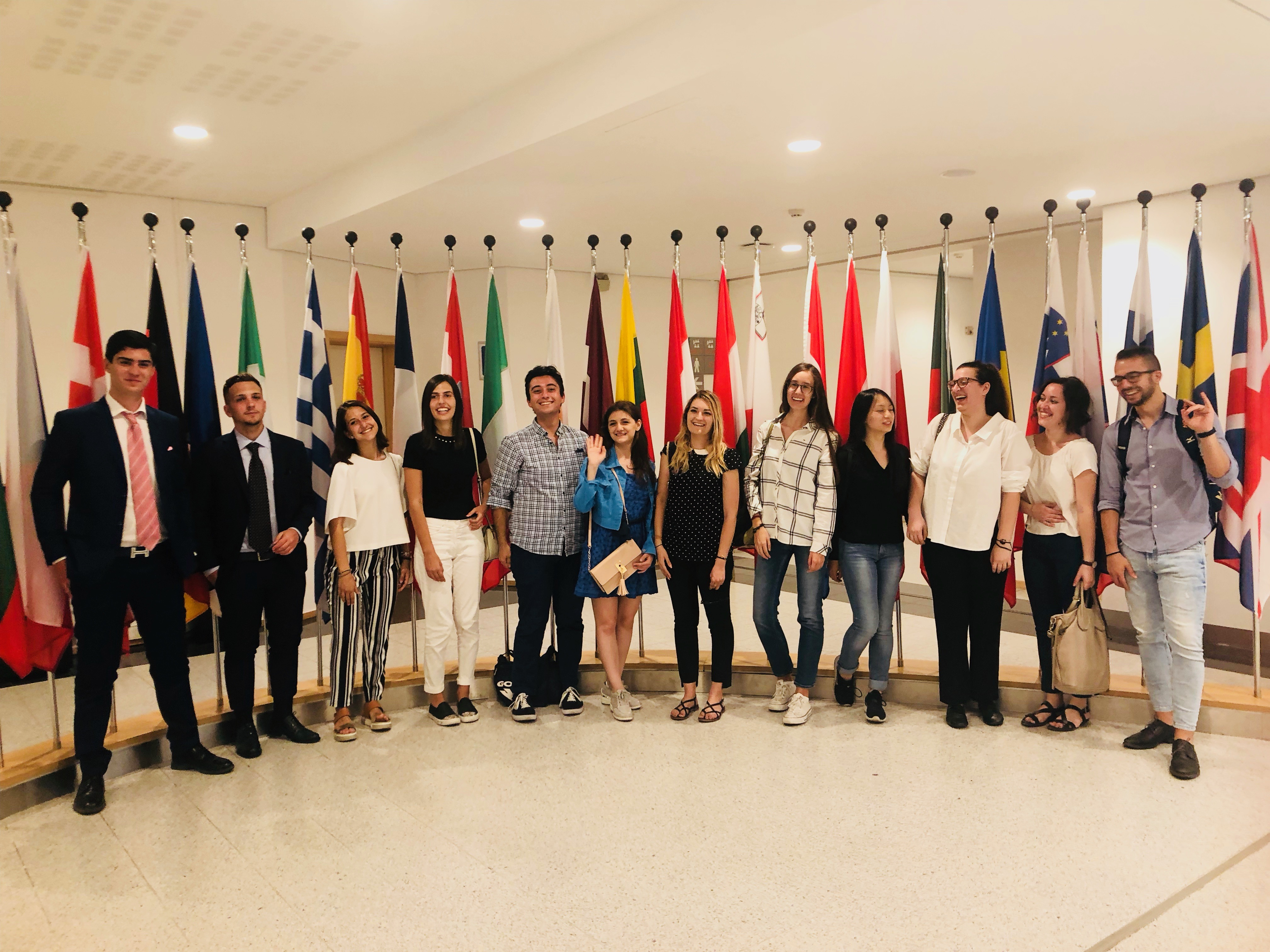 Study Visit Collegio Don Mazza. Brussels, Belgium; July 2018