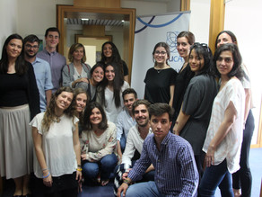 A SPANISH DELEGATION OF STUDENTS VISITS EUCA