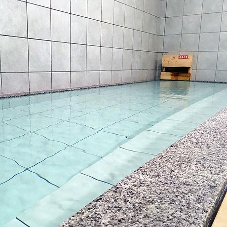 浴槽と自慢の温泉