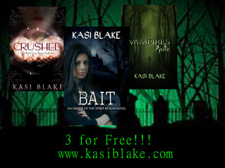 Awesome Author #10 Kasi Blake!