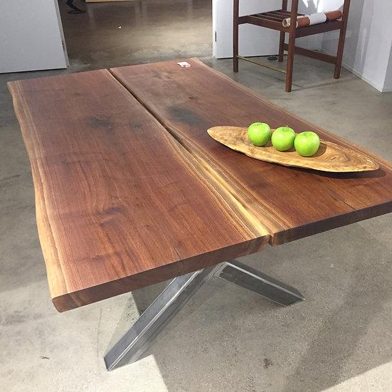 6' Black Walnut Table