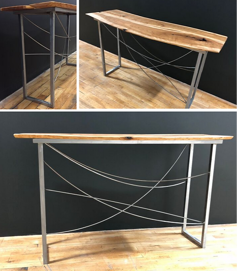 """Organic Interaction"" - Cherry Console Table"