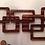 Thumbnail: MidMod Wood Wall Hanging