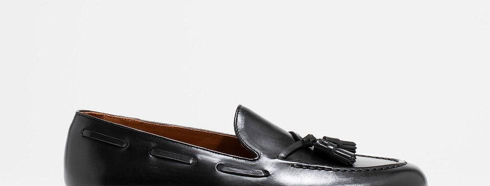 Tassel Loafer Black Calf