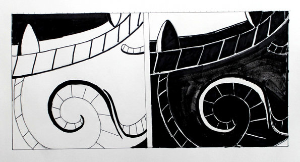 Samurai mask design development