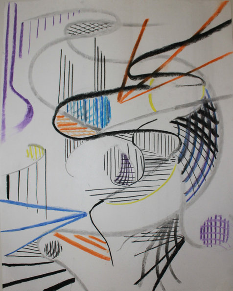 Kandinsky Study on bristol