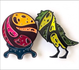 Pins pack of 2