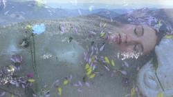 Achromatic Stream of Consciousness by Laura Vroegindewey