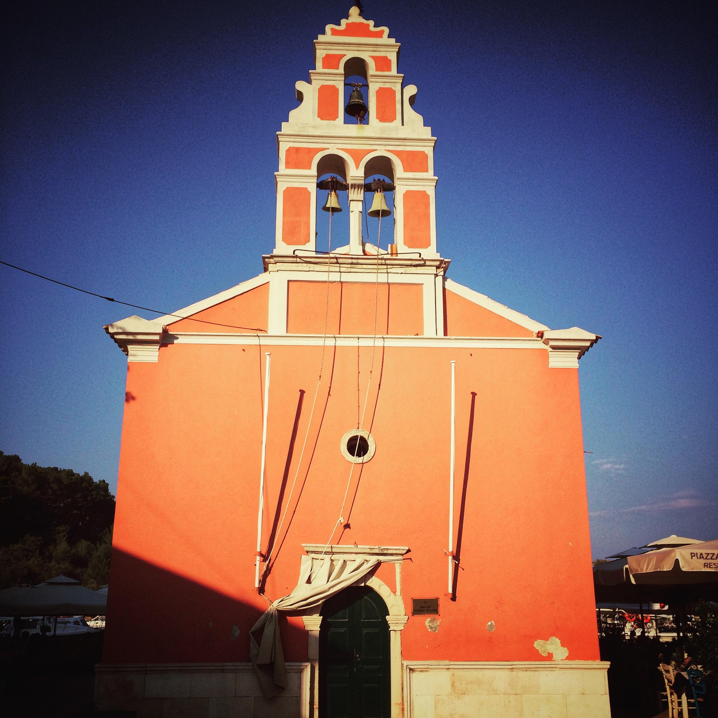 Gaios Paxos church