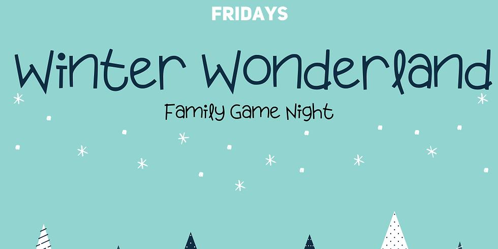 5th Fridays: Winter Wonderland Family Game Night