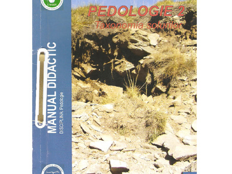 Pedologie 2 – Taxonomia solurilor