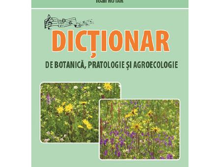 Dicționar de botanică, pratologie și agroecologie