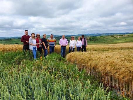 Vizita experți AGRIM și cadre USAMV Cluj la ferma ing. Moldovan Dragoș, Dumbrăvioara, Mureș