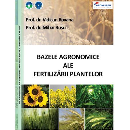 Bazele agronomice ale fertilizarii plantelor