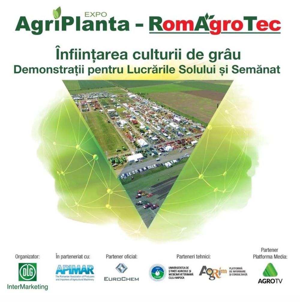 Înființarea culturii de grâu. Expo AgriPlanta-RomAgroTec