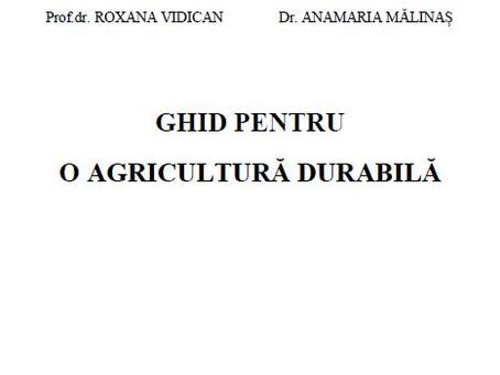 Ghid pentru agricultură durabilă