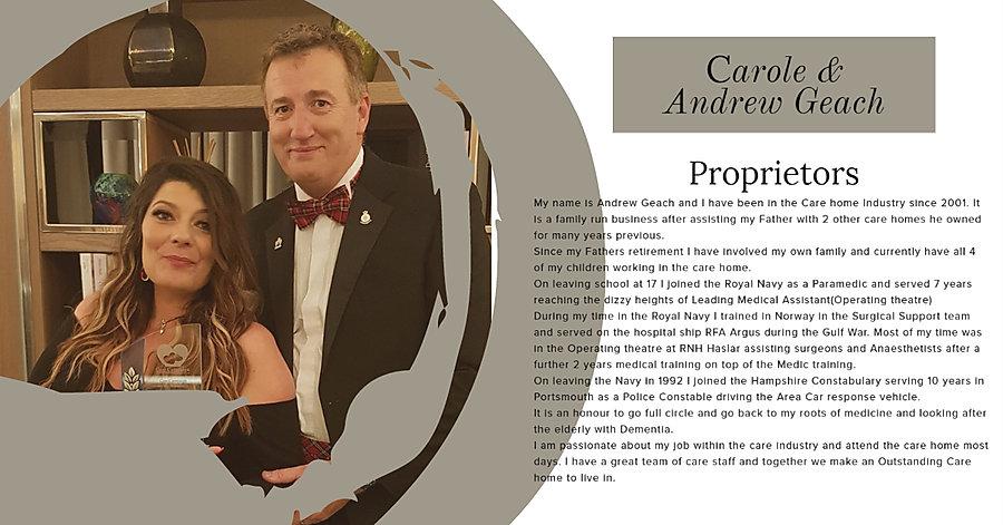 Shedfield Lodge Andrew & Carole Geach Pr