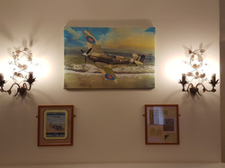 Shedfield Lodge Care Home Dementia Specialist Spitfire Wall