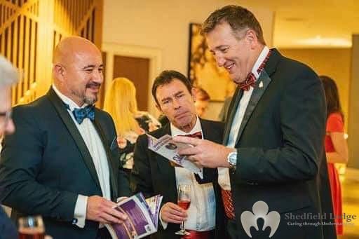 Shedfield Lodge Pre Award Reception AGMF