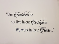 Shedfield Lodge Care Home Dementia Specialist wall logo