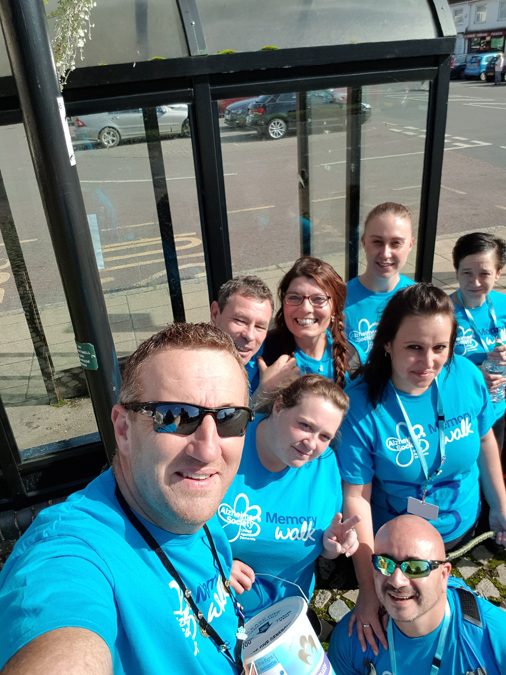 Shedfield Lodge, Memory Walk, Our Team