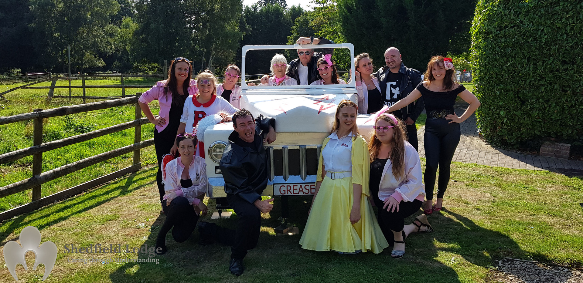 Shedfield Lodge Summer Fete 2018 Grease