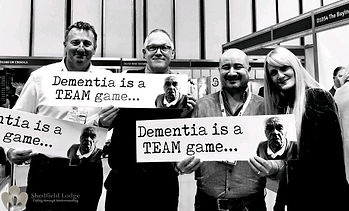 Shedfield Lodge Dementia Is A Team Game