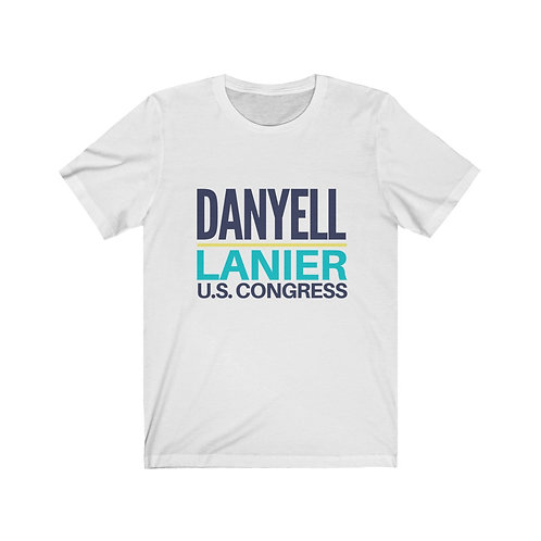 Danyell for Congress Unisex Jersey Short Sleeve Tee