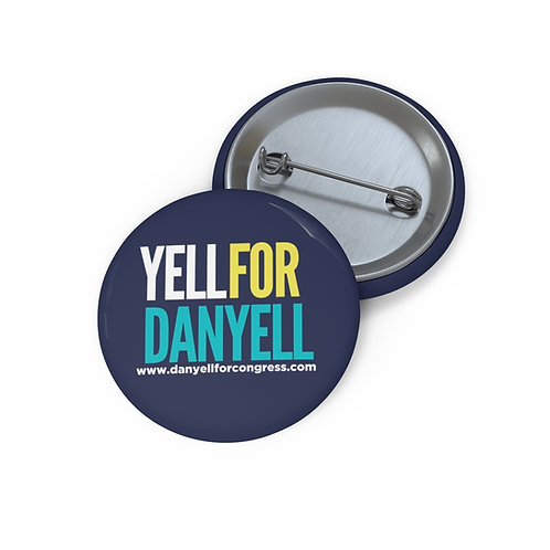 Danyell for Congress button