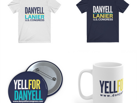 Get your official Danyell Lanier SWAG!