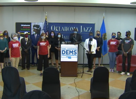 Press Conference with Oklahoma Democratic Party