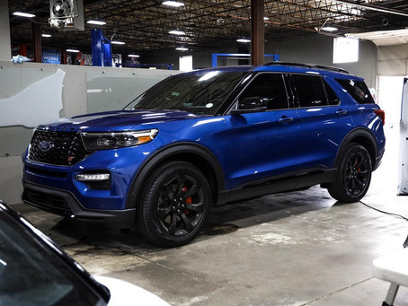 2020 Ford Explorer - Clear Bra and Tint