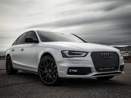 Audi A4 - Satin White Pearl Wrap