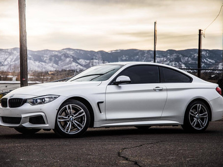 BMW 4 Series - Satin Pearl White