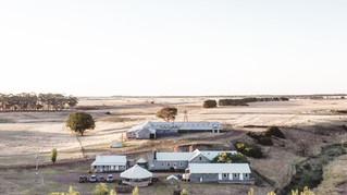 The shearers quarters. Barunah Plains group accommodation