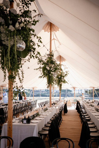 Tony Evans photo of Barunah Plains wedding
