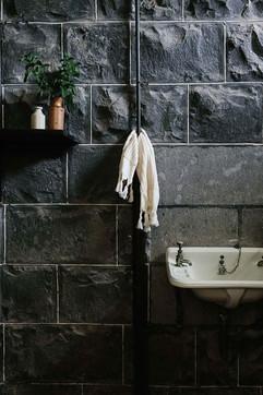 Barunah Plains wash room in the homestead