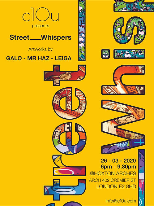 Street_Whispers - Poster A2 Print