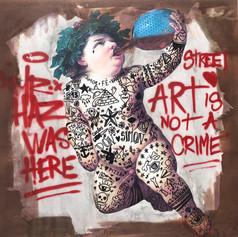 STREET ART IS NOT A CRIME