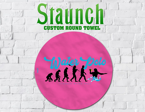 Evolution Round Beach Towels On Sale | 2021 | Staunch Water Polo