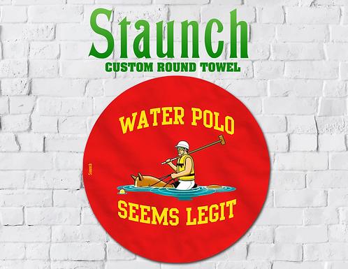 Staunch - Seems Legit Round Towel