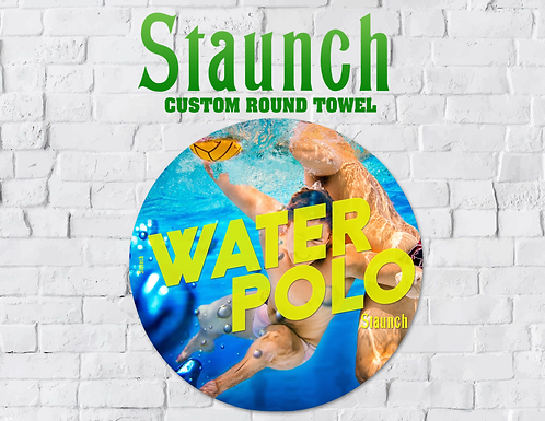 Staunch - Swimming With Balls Round Towel