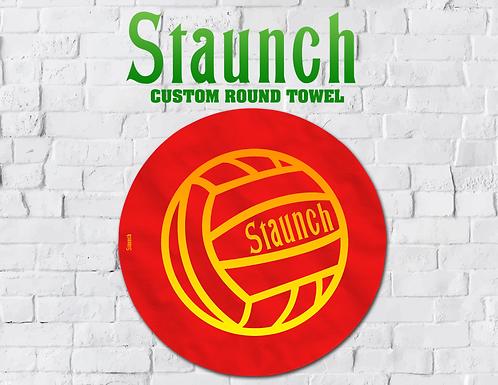 Staunch - Varsity I Round Towel