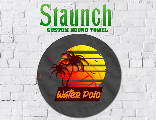 Staunch - Tropical Round Towel