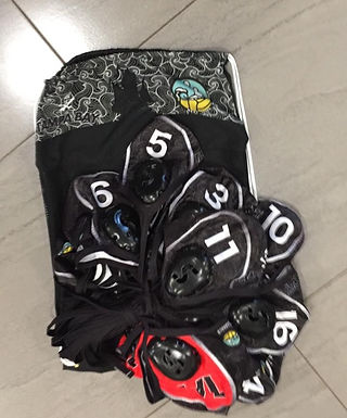 Fully Customised Set of Caps