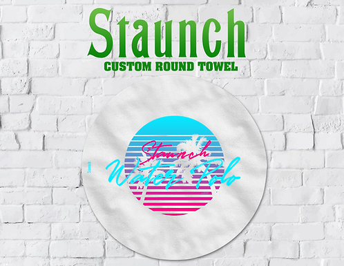 Staunch - Miami Vibe Round Towel