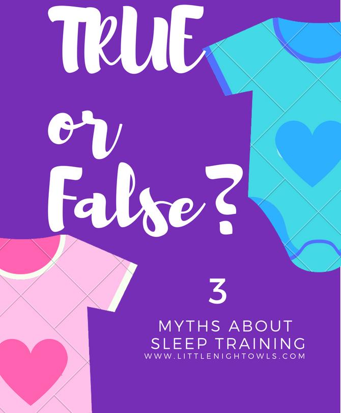 Three Myths About Sleep Training
